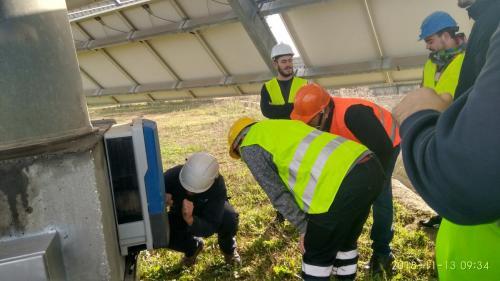 Visita Huerto Fotovoltaico Vejer