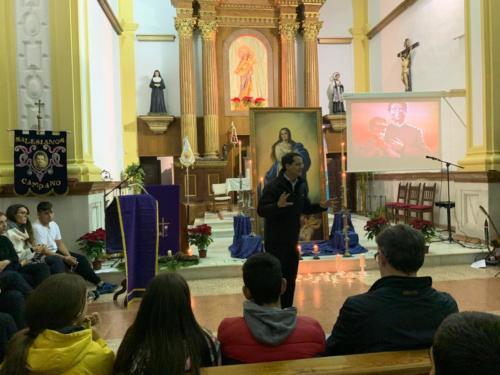 Vigilia Inmaculada Esc.Hogar 2019